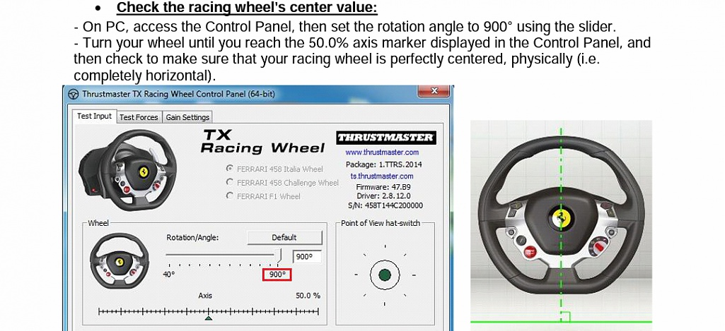TX Racing Wheel with Patch 2 0