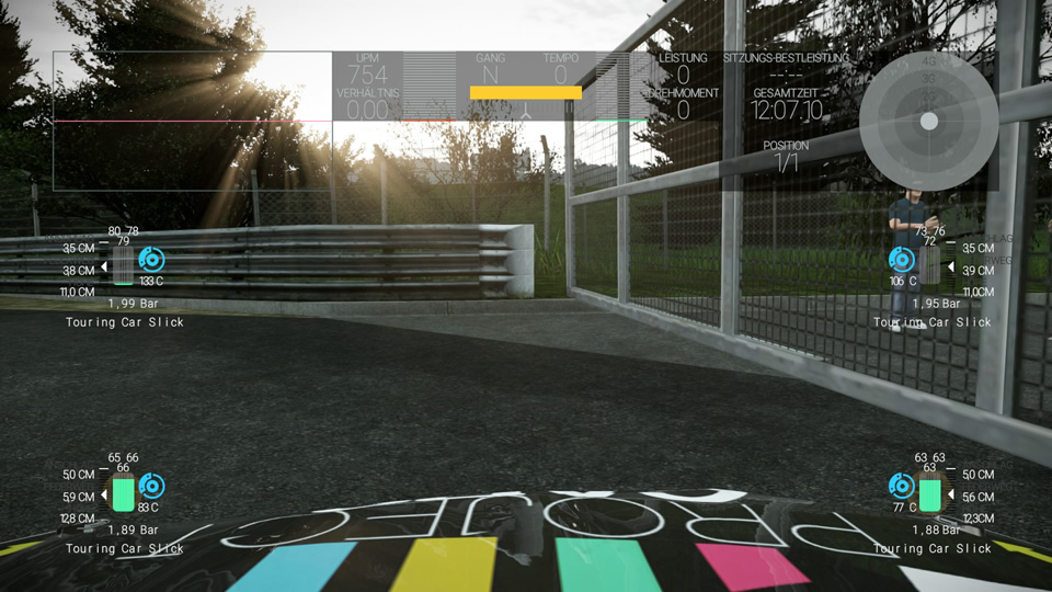 Project Cars  Hud Size