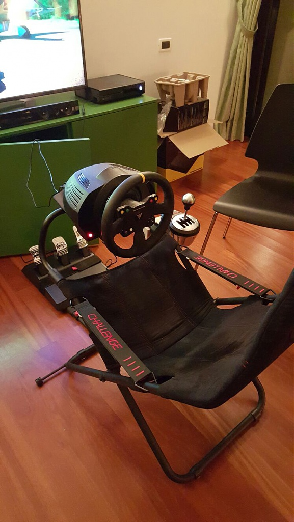 Buttkicker + Playseat Challenge