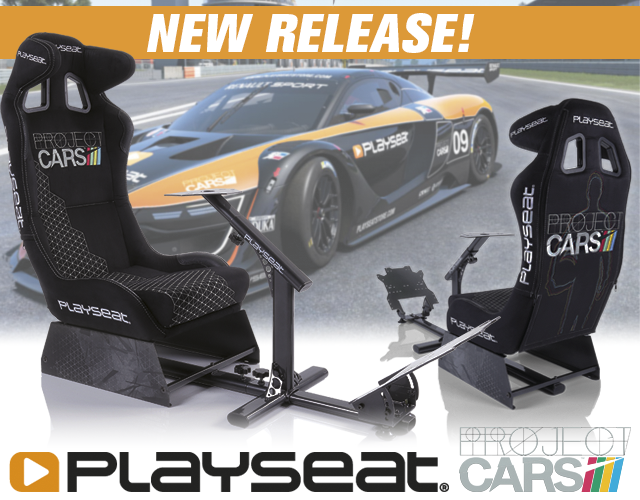 Introducing the Playseat Project CARS
