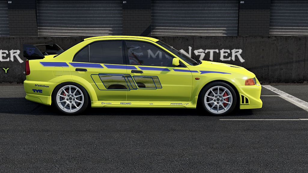 mitsubishi lancer evo vi t.m.e. (no chat!)
