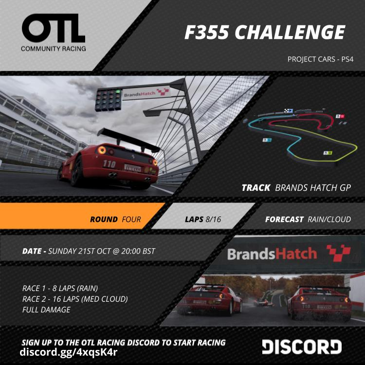XB1, PS4, PC coming soon] OTL Community Racing leagues