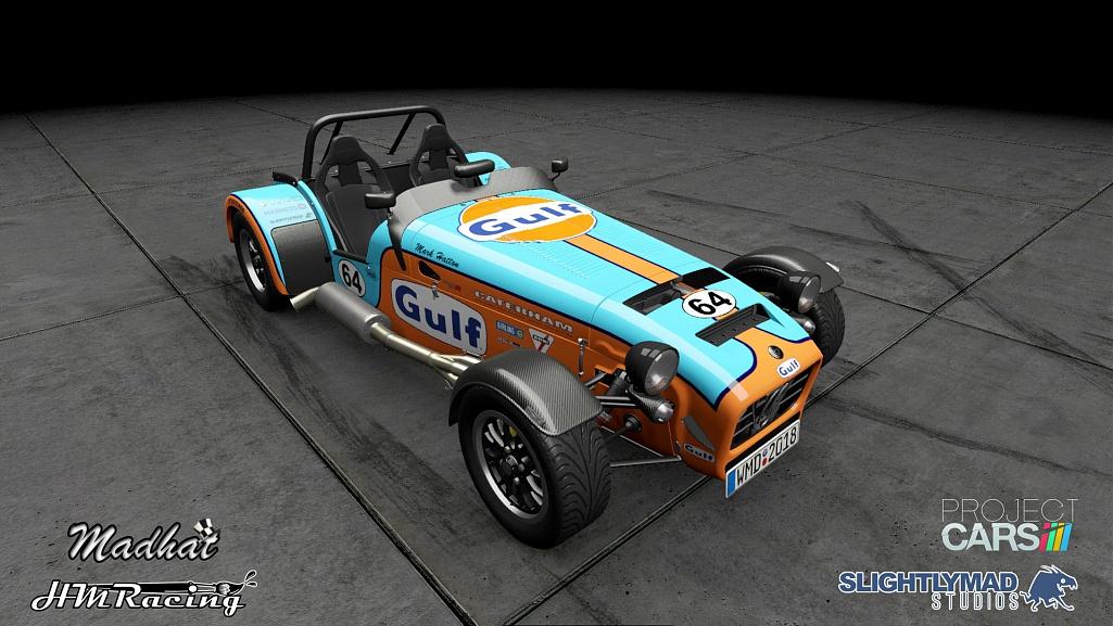 Click image for larger version.  Name:Gulf Caterham 620r 01.jpg Views:0 Size:196.7 KB ID:279781