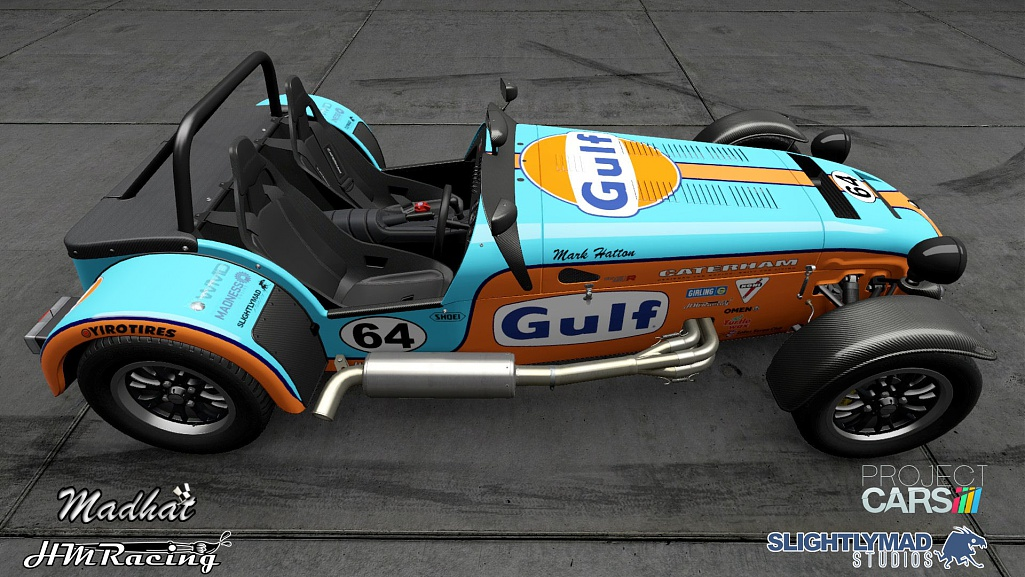 Click image for larger version.  Name:Gulf Caterham 620r 02.jpg Views:0 Size:224.6 KB ID:279782