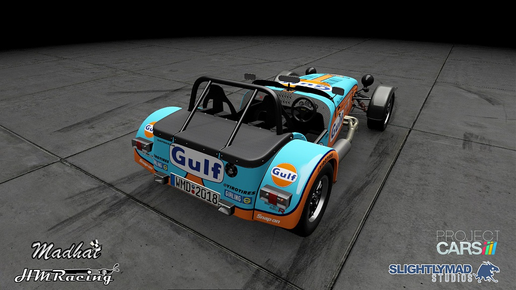 Click image for larger version.  Name:Gulf Caterham 620r 03.jpg Views:0 Size:189.2 KB ID:279783