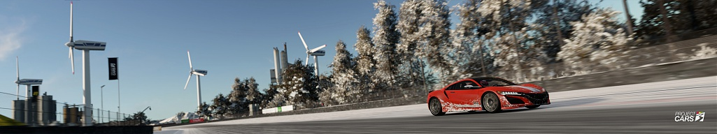 Click image for larger version.  Name:0 PROJECT CARS 3 ACURA NSX 2020 at ZOLDER Snow copy.jpg Views:0 Size:74.4 KB ID:282590