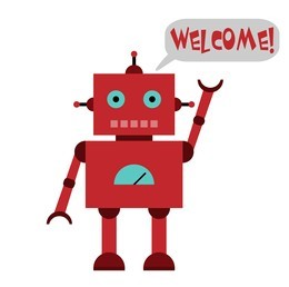 Click image for larger version.  Name:Welcome robot.jpg Views:44 Size:12.2 KB ID:284325