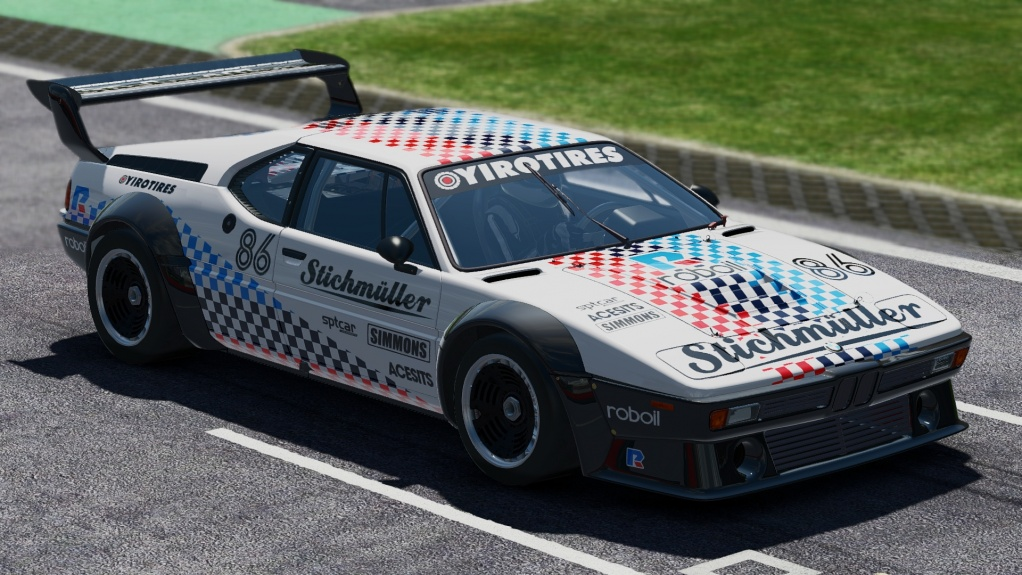Click image for larger version.  Name:pCARS BMW M1 Stichmüller.jpg Views:1 Size:224.1 KB ID:209184