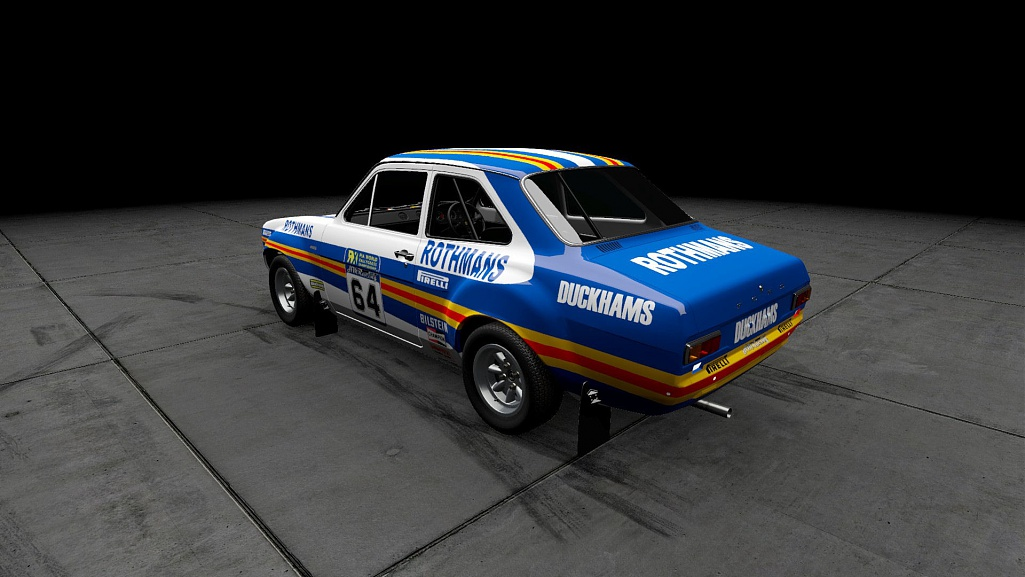 Click image for larger version.  Name:Ford Escort mk1 rx Rothmans 03.jpg Views:1 Size:138.7 KB ID:281165