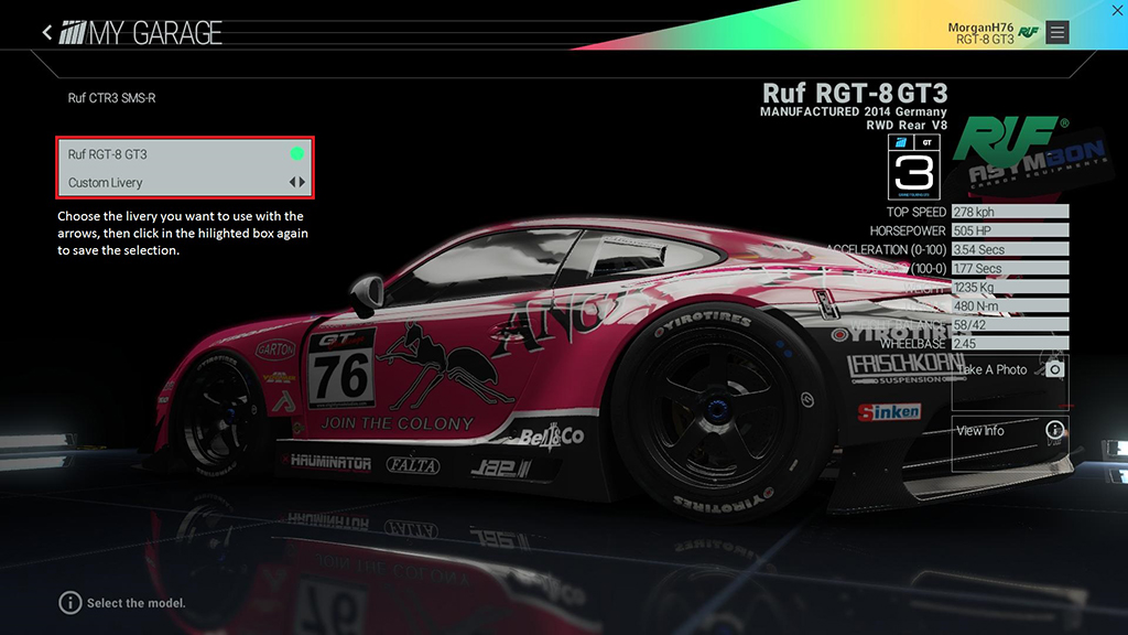 Click image for larger version.  Name:LiverySelection.jpg Views:9 Size:139.4 KB ID:206479