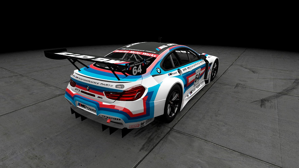 Click image for larger version.  Name:M Performance Parts BMW M6 GT3 03.jpg Views:1 Size:156.5 KB ID:280974